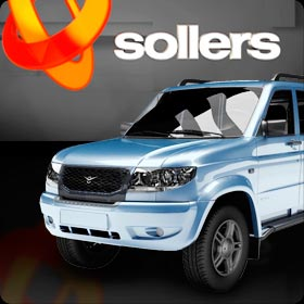 Ventuz 3D Presentation for the Leading Car Company SOLLERS