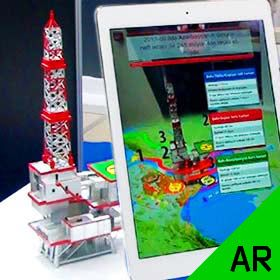 Augmented Reality with 3D Tracking of a Real Object