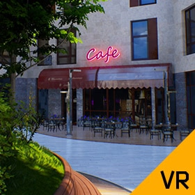 Immersive 3D Virtual Tour of a Residential Complex under Construction