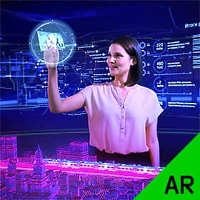 Moscow Central Diameters promo video in augmented reality