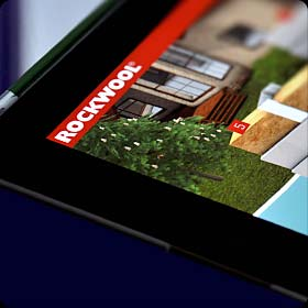 Rockwool Interactive Presentation for iPads