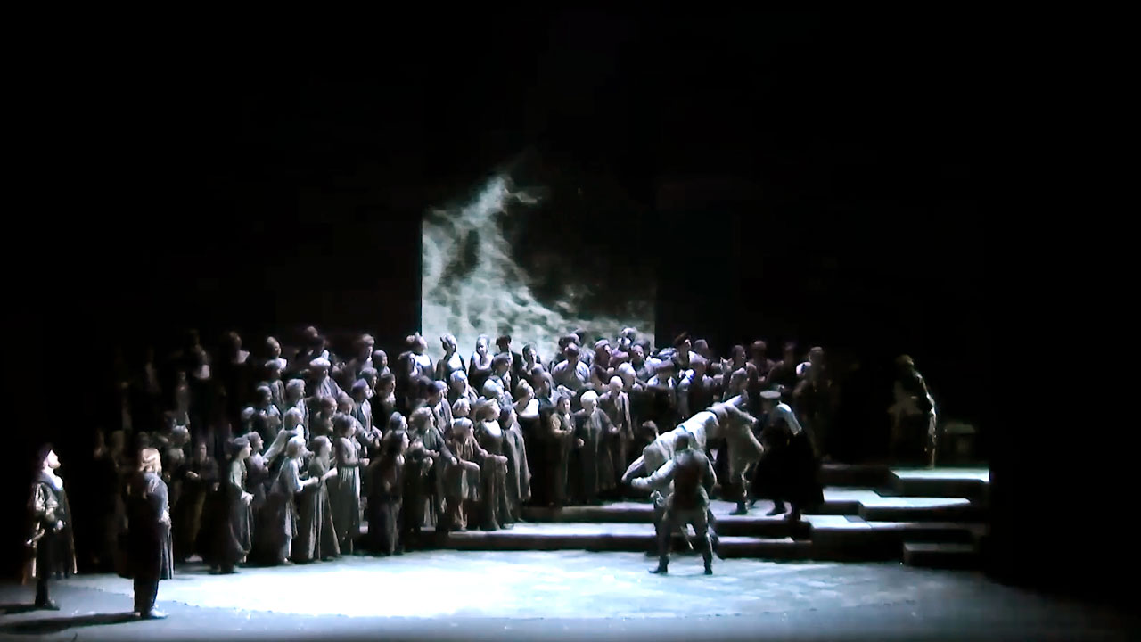 The Stanislavsky and Nemirovich-Danchenko Music Theatre shows the last premiere of the 100th season – Giuseppe Verdi's Otello.