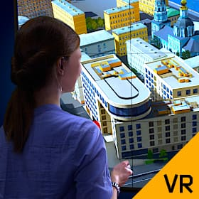 Exterior and Interior Virtual Tour of Residential Complexes Under Construction