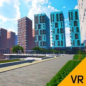 Virtual Tour of the Residential Quarter Under Construction
