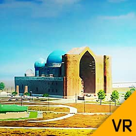 Virtual tour of Azaret Sultan reserve-museum